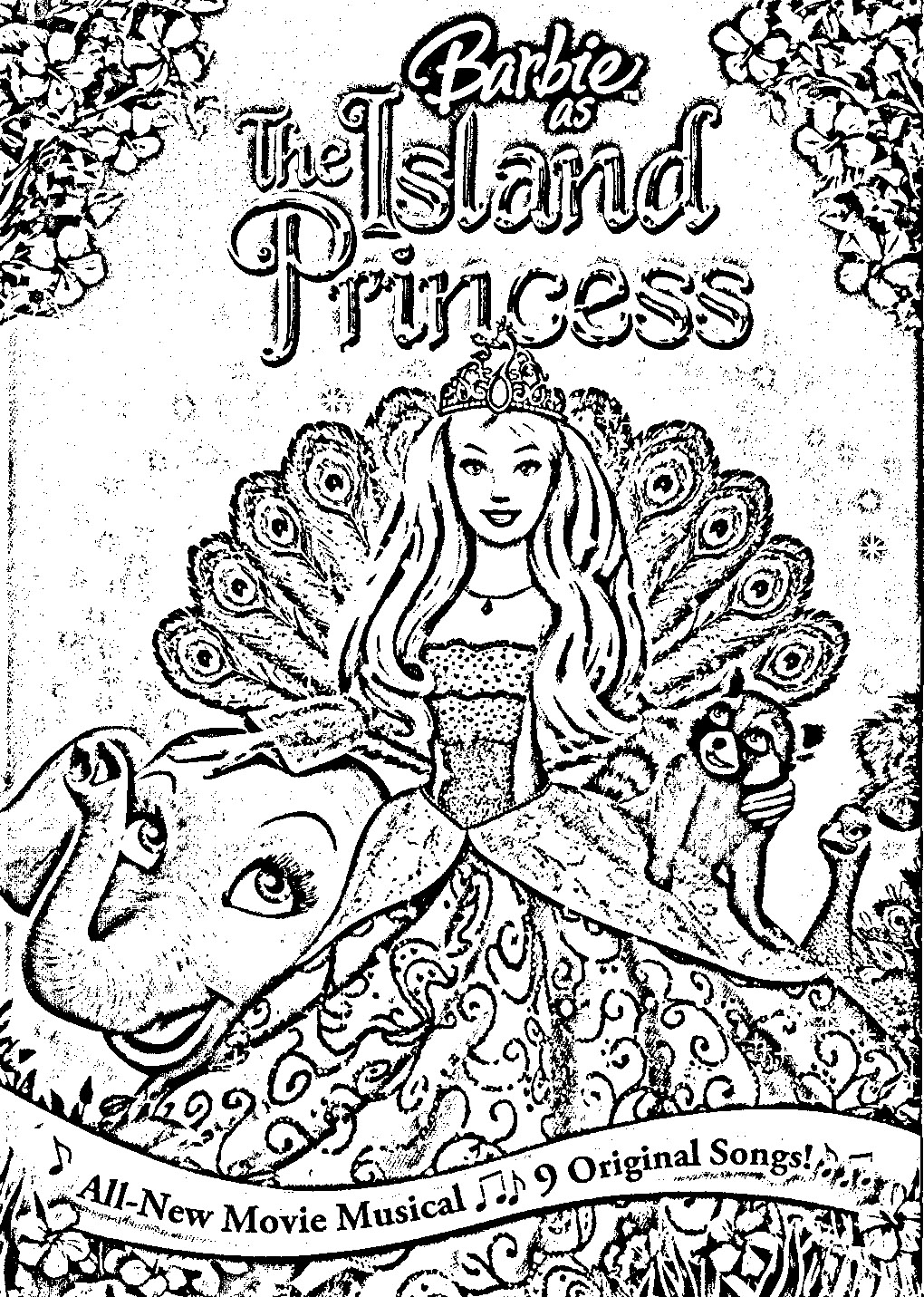 as the island princess in and story