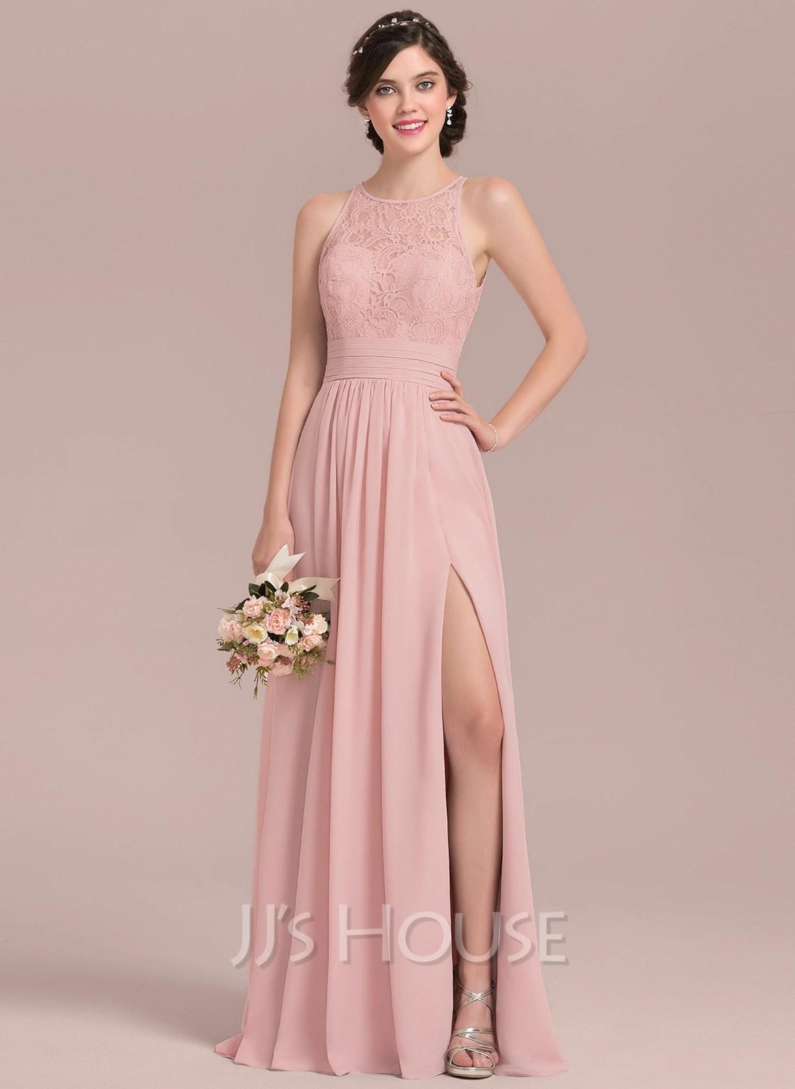 Vestidos De Dama De Honor Color Coral