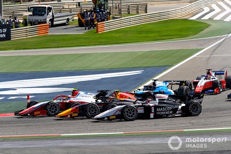 Oscar Piastri, Prema Racing, Jehan Daruvala, Carlin and Christian Lundgaard, ART Grand Prix