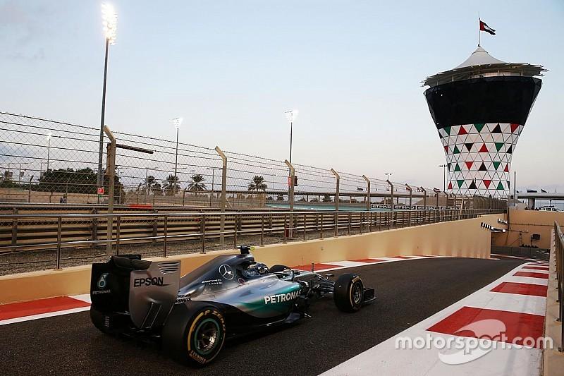 GP di Abu Dhabi: l'ibrido lavora solo per la metà di un giro!