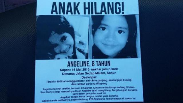 Kisah Panjang Pencarian Angeline
