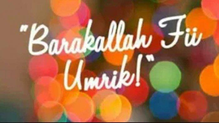 10 Ucapan Selamat Ulang Tahun Bahasa Arab Yang Menyentuh Hati Untuk Sahabat Dan Orang Terdekat Tribun Sumsel