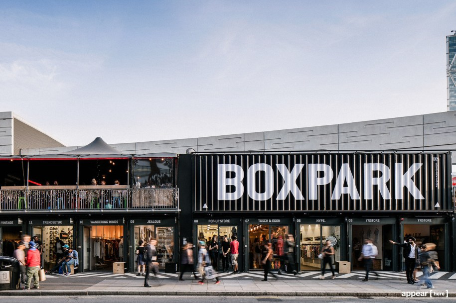 Pop Up Shops for Rent in Boxpark Shoreditch | Appear Here