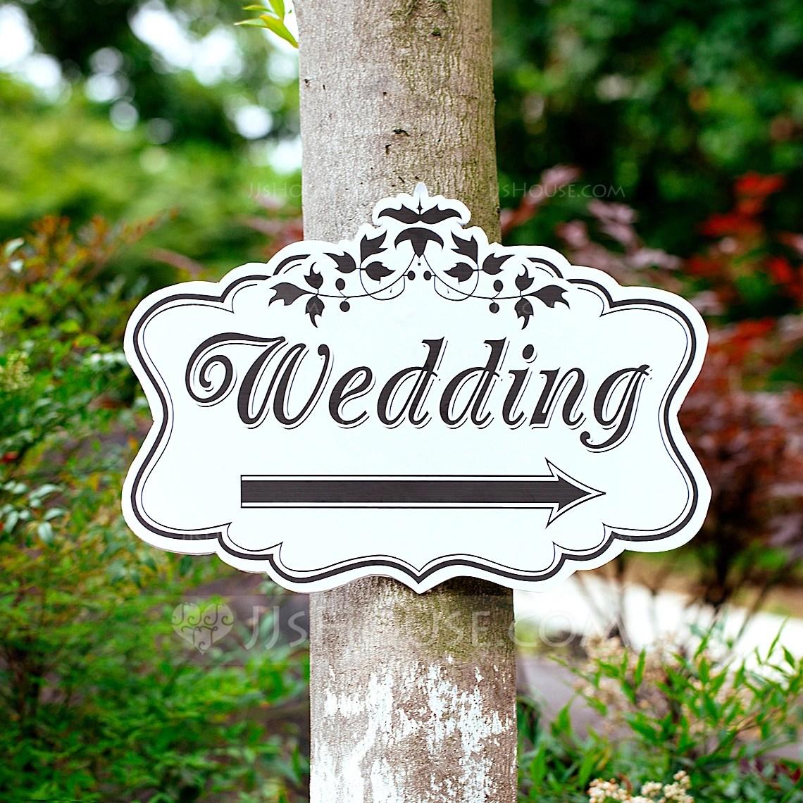 KT Board Wedding Direction Sign 131067109 Wedding