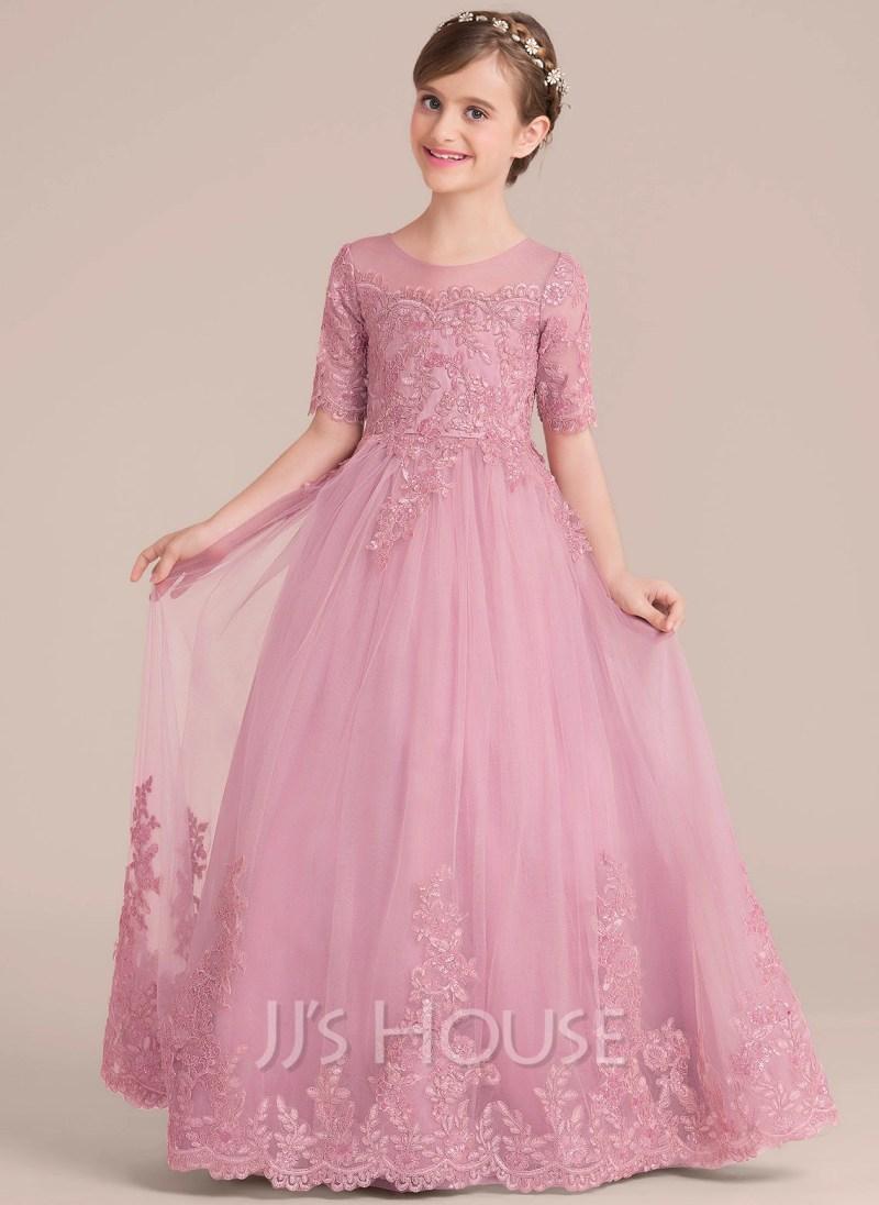 22c8a74e5 pink flower girl dresses canada