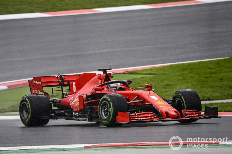 P12 Sebastian Vettel, Ferrari SF1000