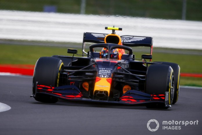 P12 Alex Albon, Red Bull Racing RB16