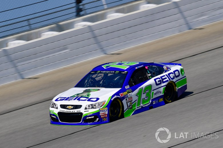 Ty Dillon, Germain Racing Chevrolet at Chicagoland