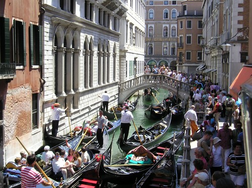 Image result for Venice crowds