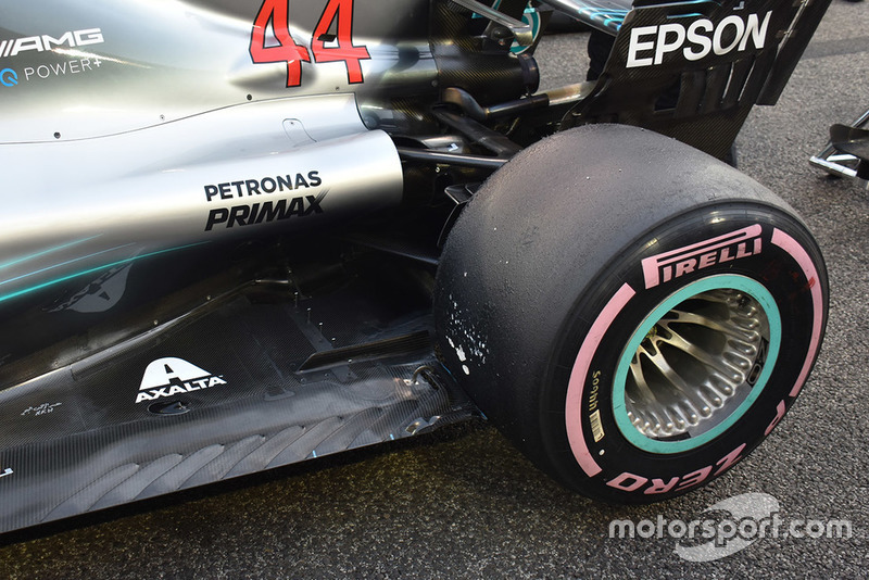 Car of Lewis Hamilton, Mercedes AMG F1