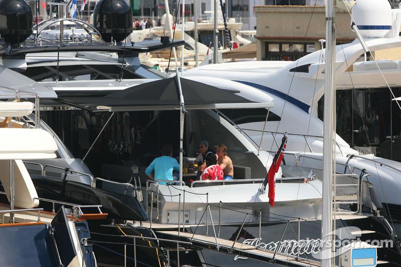 Kimi Raikkonens Boat Iceman At Monaco GP