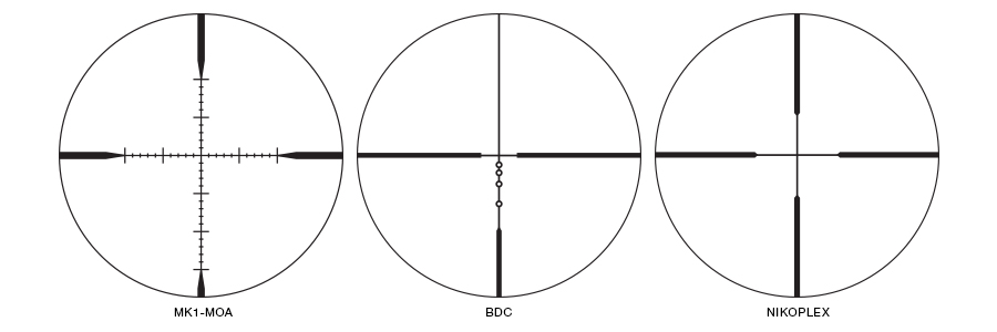 MONARCH M5 Reticles