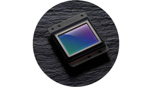 photo of the D7500's CMOS sensor
