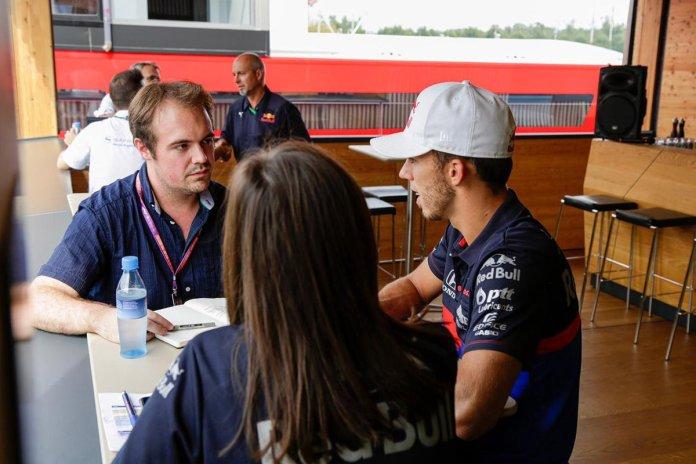 Luke Smith, Pierre Gasly, Toro Rosso