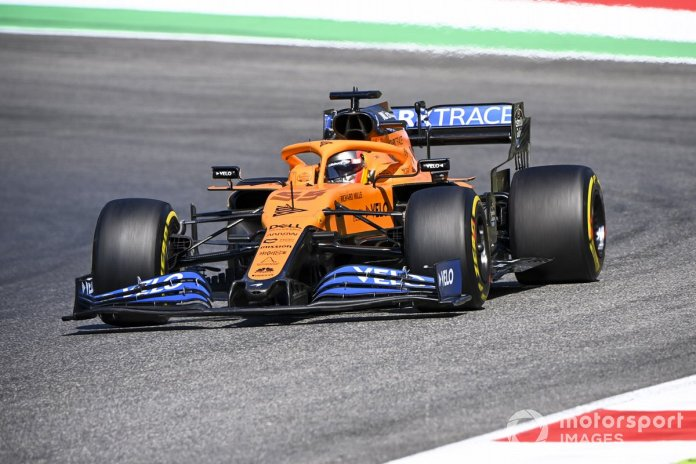 P9 Carlos Sainz Jr., McLaren MCL35
