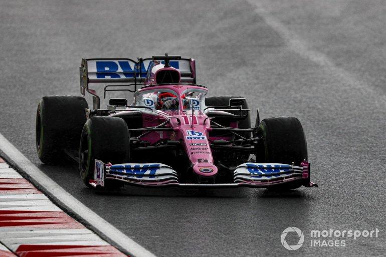 P3 Sergio Pérez, Racing Point RP20