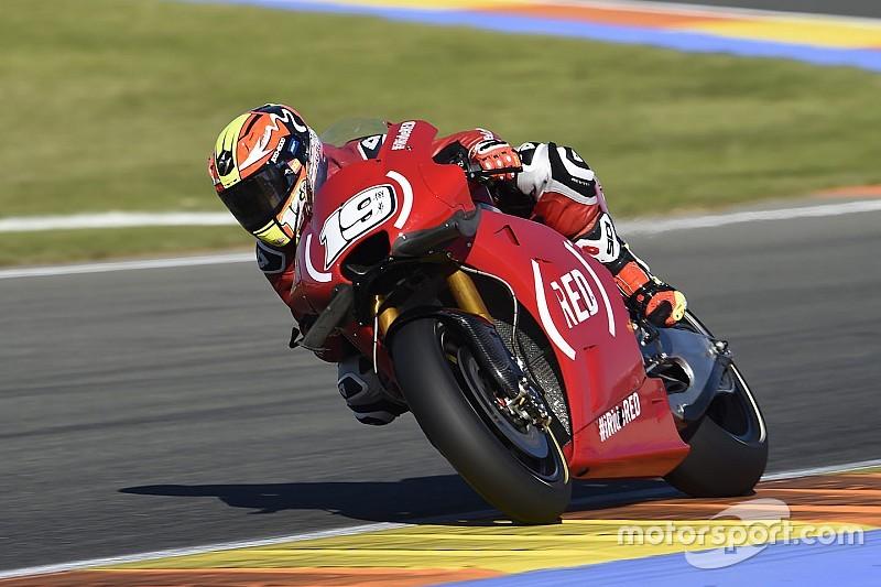 A Valencia le Aprilia RS-GP mancano l'appuntamento con la Q2