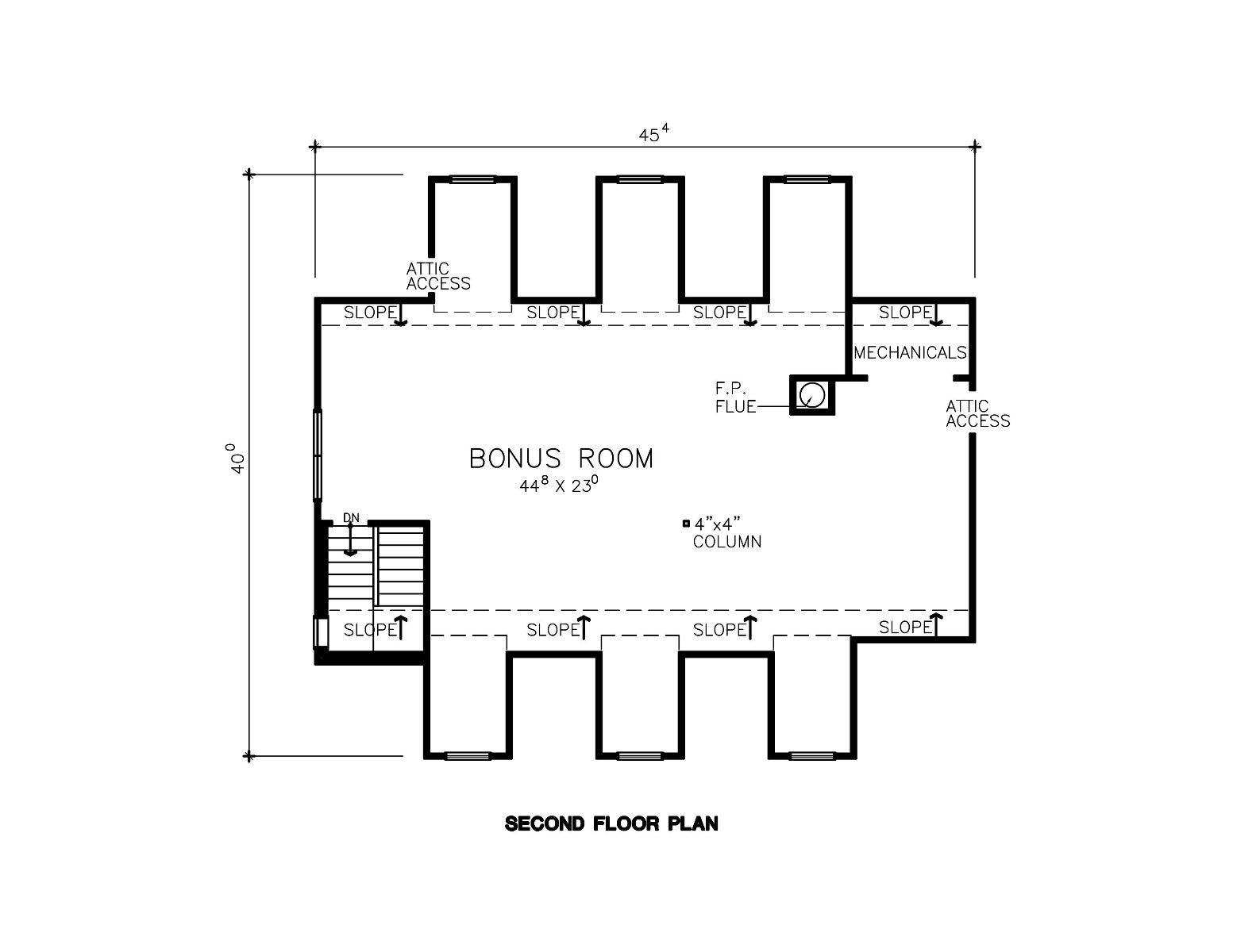 Country House Plan With 3 Bedrooms And 2 5 Baths