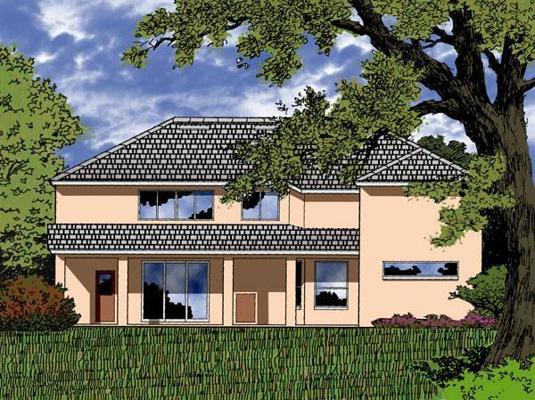 Contemporary House Plan With 5 Bedrooms And 3.5 Baths