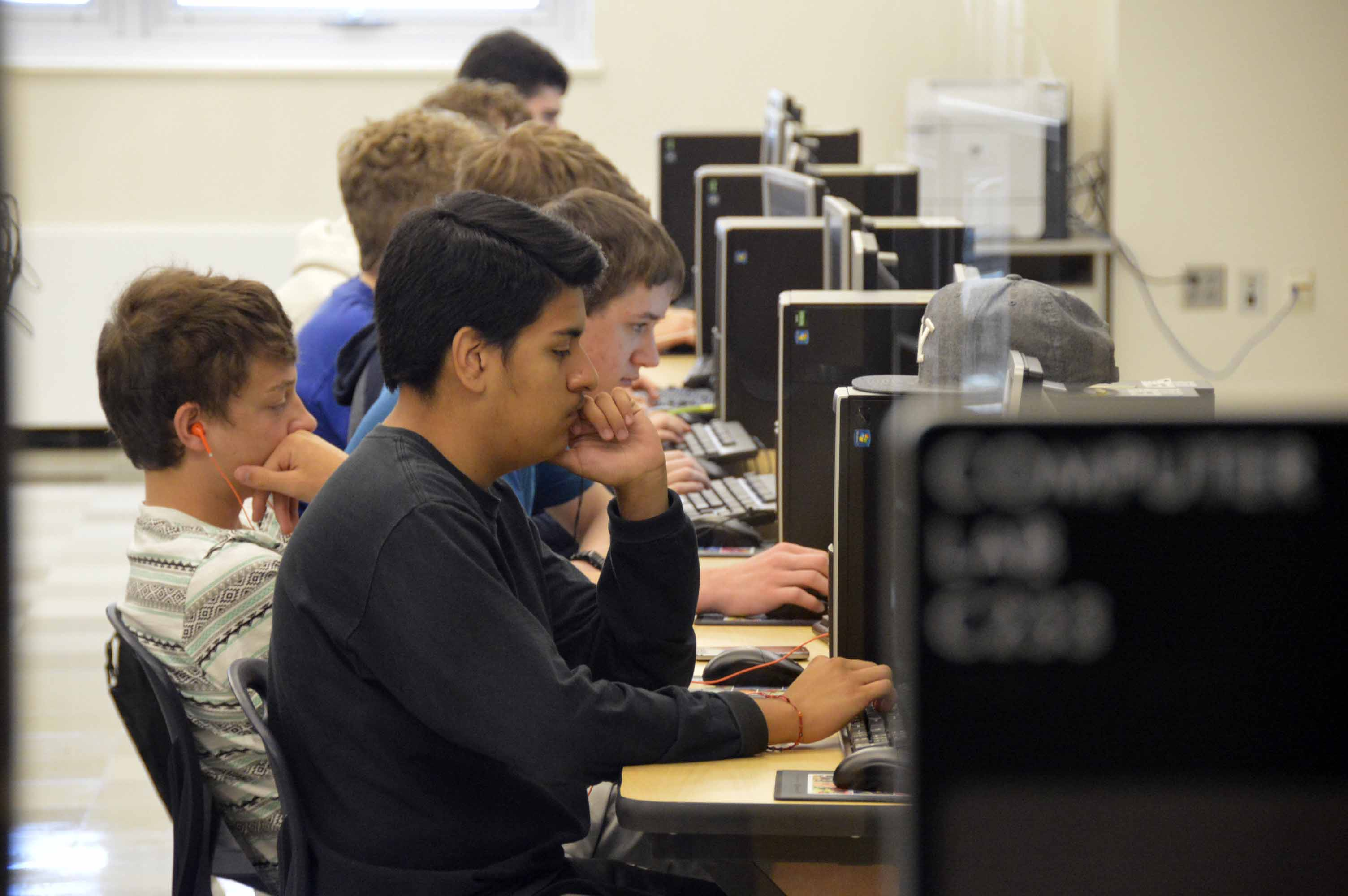 Handful Of Students Trade Summer Play For Computer Code