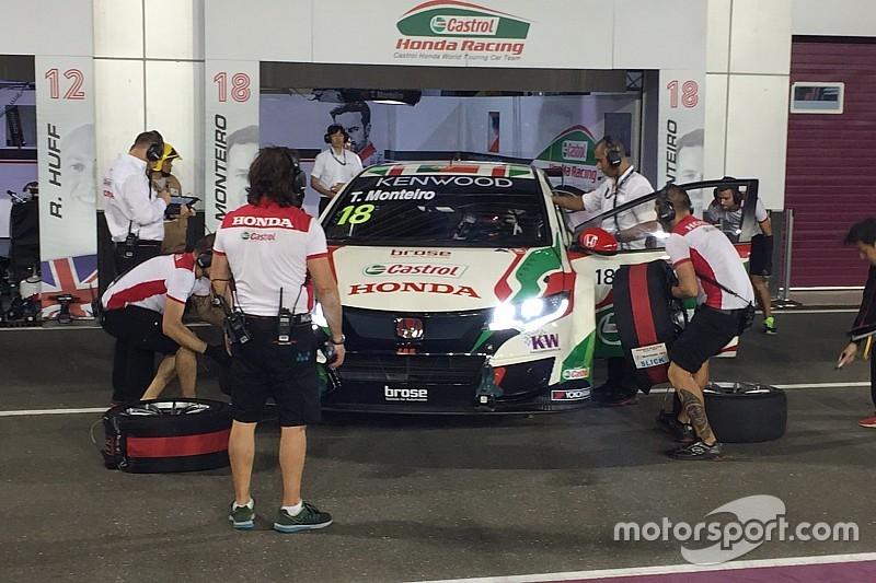 Losail, Libere 2: doppietta Honda Monteiro-Michelisz