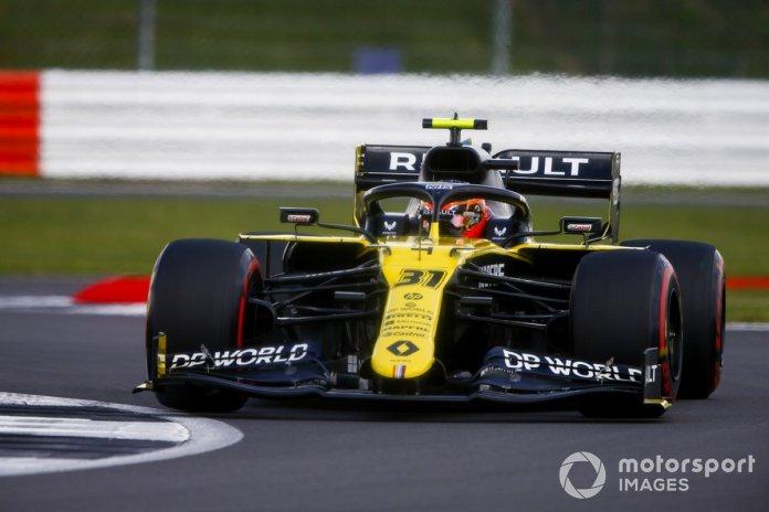 P9 Esteban Ocon, Renault F1 Team R.S.20