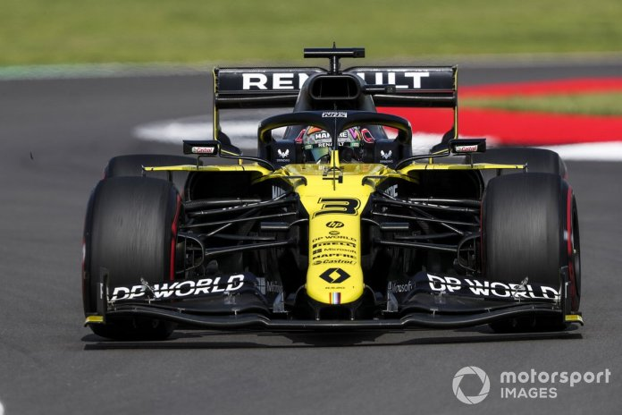P8 Daniel Ricciardo, Renault F1 Team R.S.20