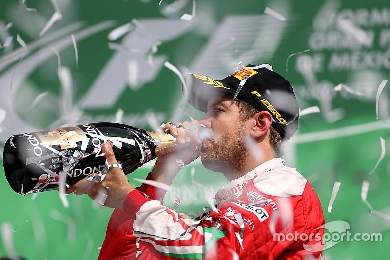 Vettel: la festa del podio e poi la beffa di 10 secondi di penalità!