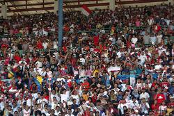 Fans at Sentul