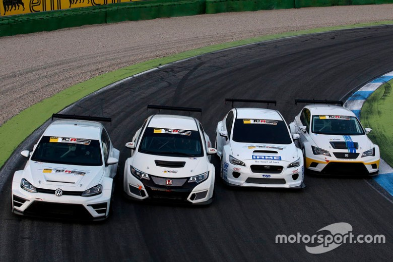 Volkswagen Golf TCR, Honda Civic TCR, Subaru WRX TCR, Seat Leon TCR at 2016 season unveil
