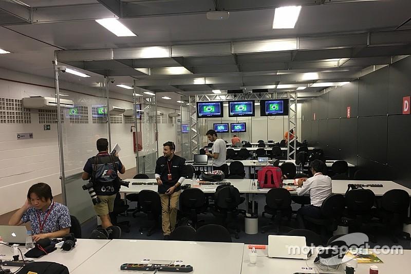 GP del Brasile: anche a Interlagos s'inaugura una sala stampa bunker