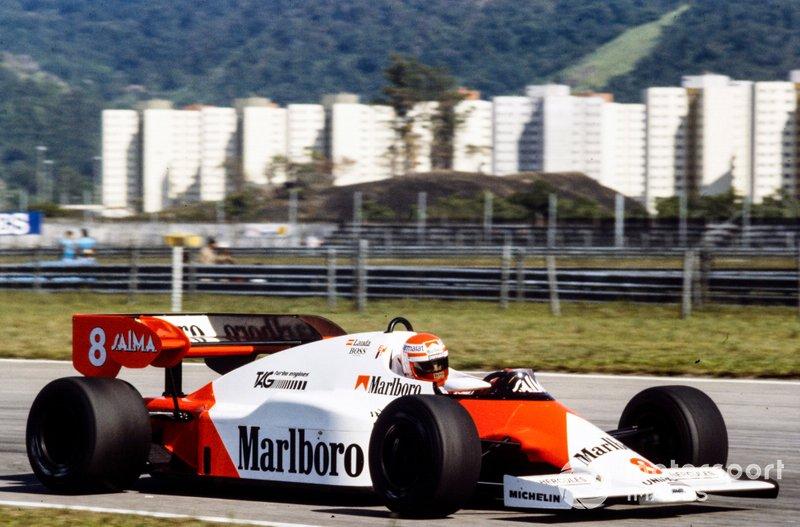 Niki Lauda, McLaren MP4-2 TAG