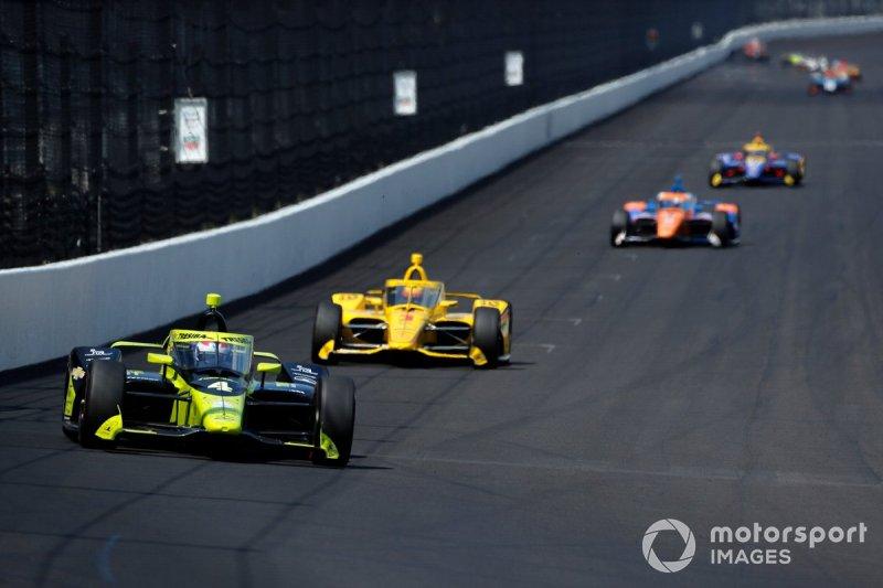 Charlie Kimball, A.J. Foyt Enterprises Chevrolet, 2020 Indianapolis 500.