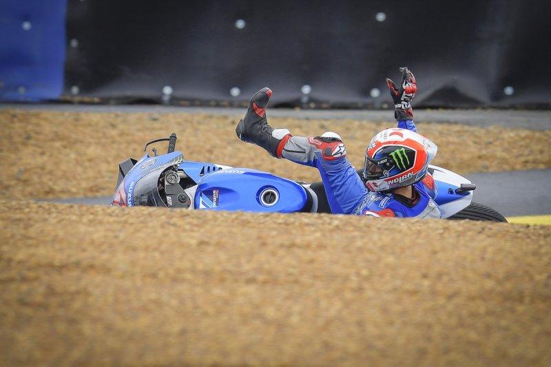 Alex Rins, Team Suzuki MotoGP crashes