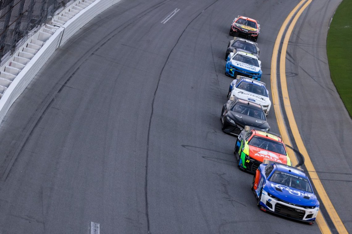 Ricky Stenhouse Jr., JTG Daugherty Racing, Chevrolet Camaro Nascar Next Gen
