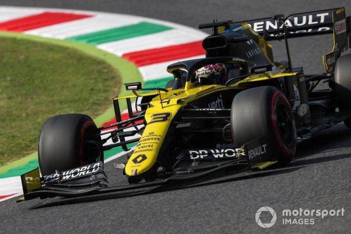 P7 Daniel Ricciardo, Renault F1 Team R.S.20