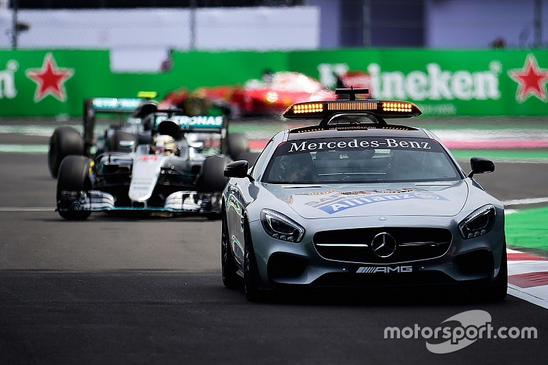 Safety Car: proposta la ripartenza da fermo anche con l'asciutto
