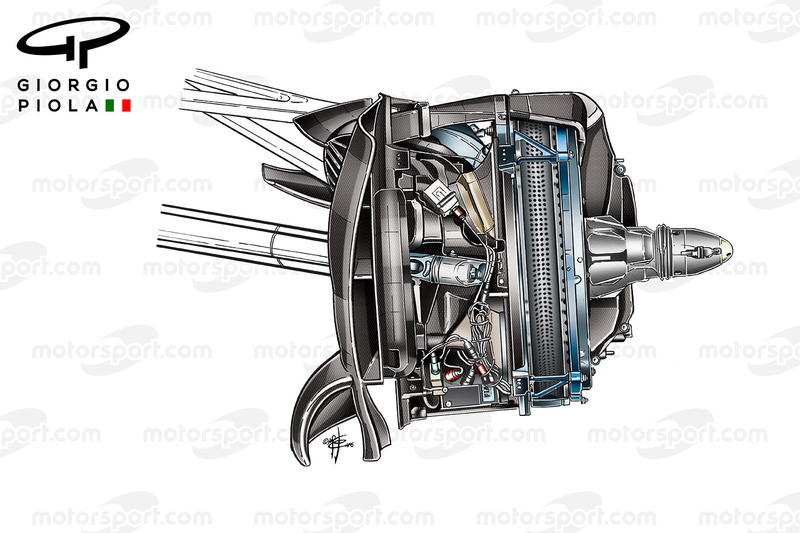 Mercedes W07 disco freno anteriore, GP del Messico