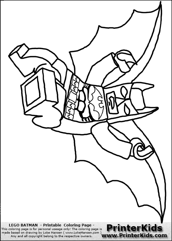 lego batman printable coloring page coloring page showing one
