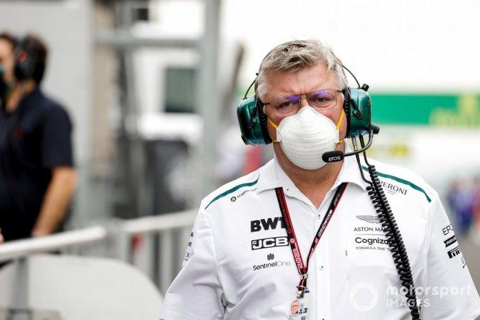 Otmar Szafnauer, Team Principal and CEO, Aston Martin F1