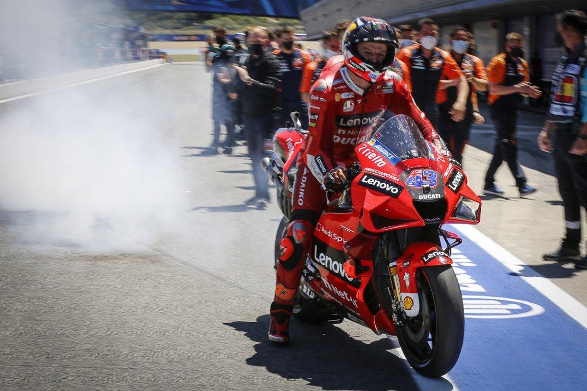 Race winner Jack Miller, Ducati Team