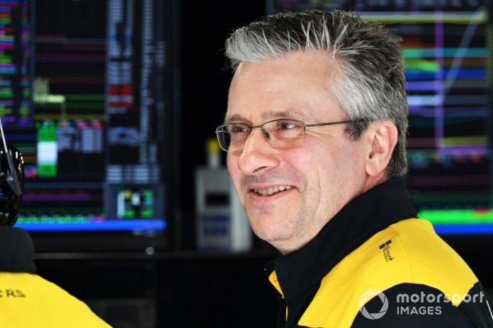 Pat Fry, ekipi i Formula 1 Alpine