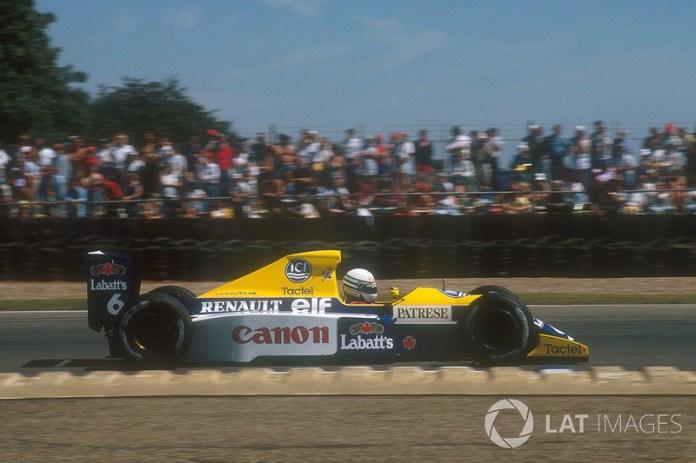 Riccardo Patrese, Williams FW13B Renault