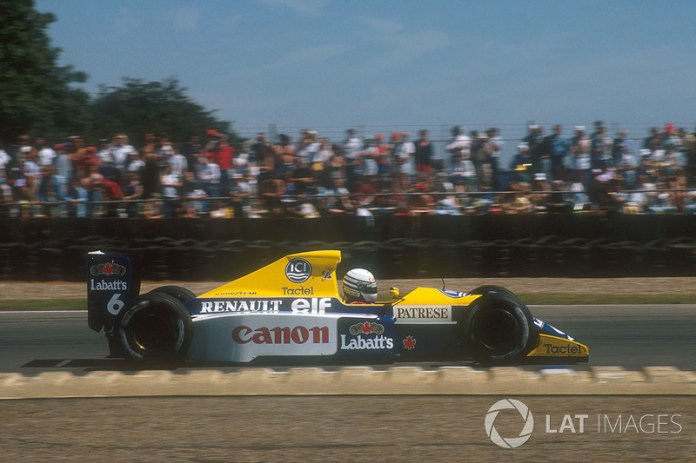 Riccardo Patrese, Williams FW13B Renault