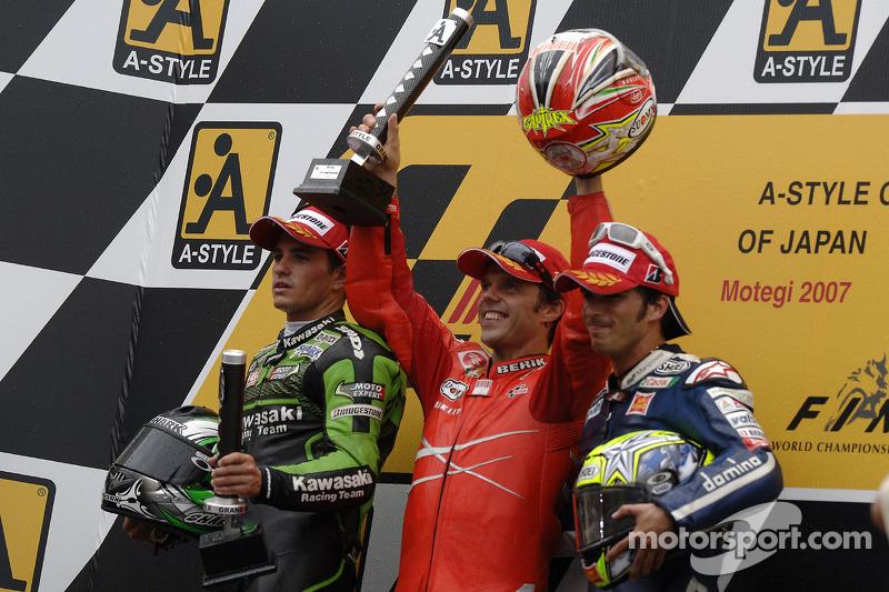 La última victoria de Loris Capirossi en MotoGP, el GP de Japón de 2007