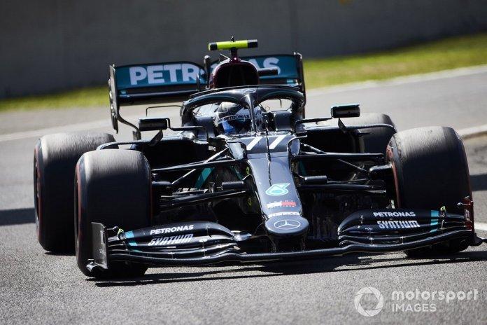 P2 Valtteri Bottas, Mercedes F1 W11