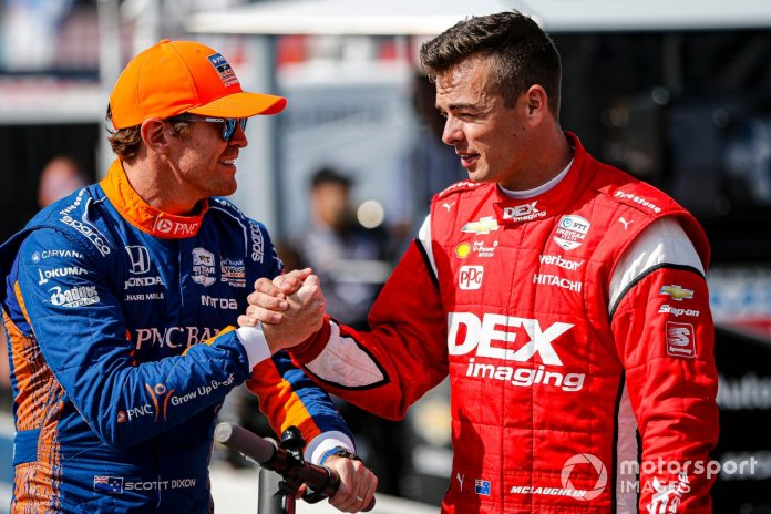 McLaughlin grew up watching Dixon win in IndyCars and now is New Zealand's next big hope