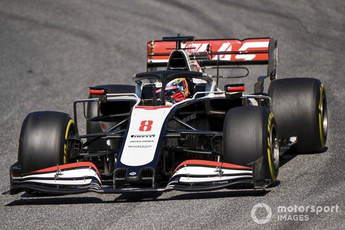 P15 Romain Grosjean, Haas VF-20