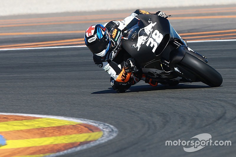 Bradley Smith esalta la grande costanza della KTM RC16