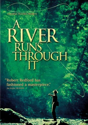 Image of flyfishing in Montana, from the movie, A River Runs Through It